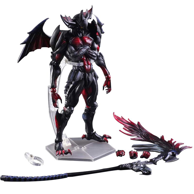 PlayArts KAI Monster Hunter 4 ULTIMATE PVC Action Figure Collectible Model Toy 28cm neca epic marvel deadpool ultimate collectible 1 4 scale action figure model toy 16 45cm ems free shipping
