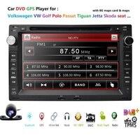 Автомобильный DVD плеер для VW PASSAT B5 MK5 Гольф MK3 Характеристическая вязкость полимера MK4 поло MK4 транспортер T5 BORA Ford Galaxy Sharan сиденья 7 2 din gps навиг