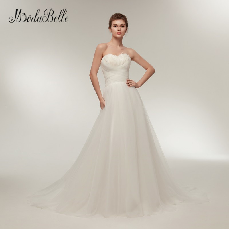 Modabelle Sweetheart Summer Beach Wedding Dresses Simple A