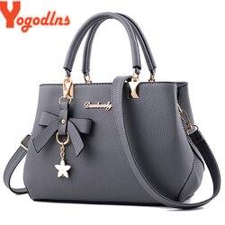 Yogodlns Новинка 2019, элегантная сумка на плечо, женские дизайнерские роскошные сумки, женские сумки с баской, милая сумка через плечо