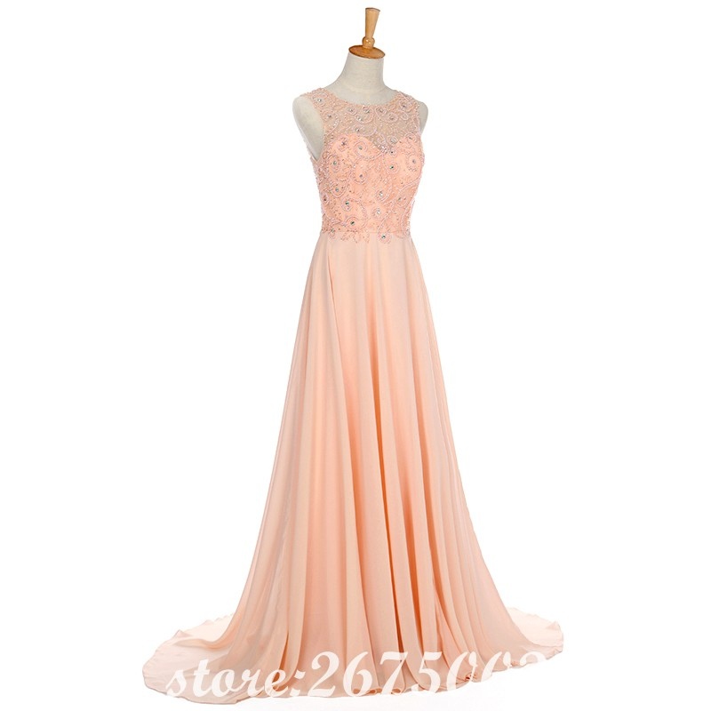 SINGLE ELEMENT Real Photo Prom Dresses 2019 Floor Length Party Dress in Prom Dresses from Weddings Events