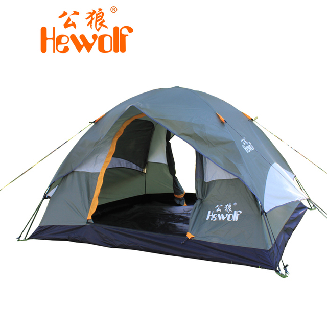 3 4 person woodland tent waterproof outdoor camping tent instant