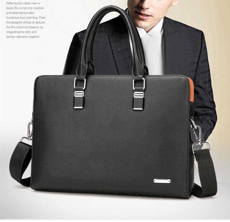 HTB1fHOkbeuSBuNjSsplq6ze8pXaG Wholesale Genuine Leather Men Briefcases Brand Fashion Men's Crossbody Bags High Quality Male Messenger Bags 2019 New arrival