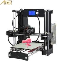 Sıcak Satış 3d-Printers Anet A6 A8 Otomatik tesviye 3d Yazıcı kolay Ücretsiz Hassas Ile Reprap 3D Yazıcı Seti DIY araya Filament