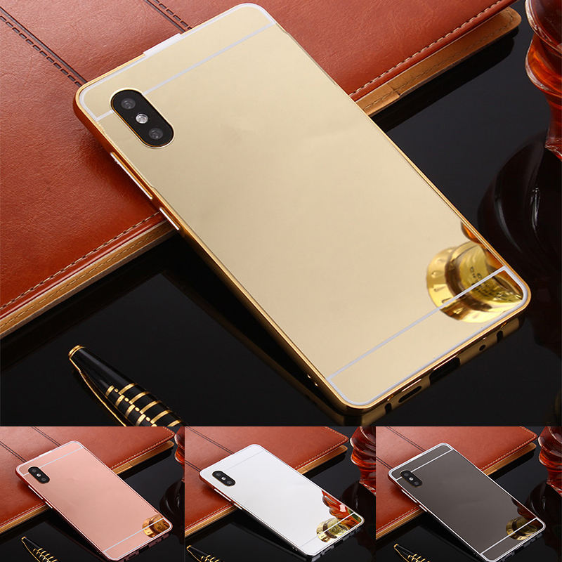 For <font><b>Samsung</b></font> <font><b>Galaxy</b></font> <font><b>A50</b></font> Case Gold Mirror Aluminum Shockproof Back Cover For <font><b>Samsung</b></font> <font><b>A50</b></font> A 50 2019 <font><b>A505</b></font> A505F SM-A505F phone cases image