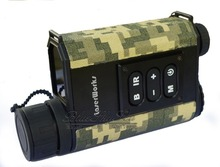 LaserWorks Mutifuctional 6X32 Night Vision Inframerah IR Bermata Lingkup Scout Laser Rangefinders untuk Berburu Camping Army Hijau