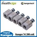 100% Оригинал Kanger Субтанке ОКК NI200 Ni 200 Суб Ом Катушки ОКК ni200 катушки для Субтанке V2 Плюс Nano МИНИ 0.15ohm 5 шт.