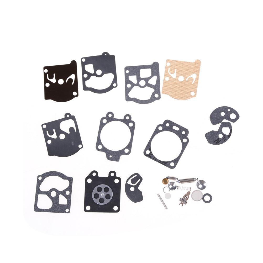 1Set New Carburetor Repair Kit Carb Rebuild Tool Gasket Set For Joint Diaphragme Pour Walbro WA & WT K10-WAT