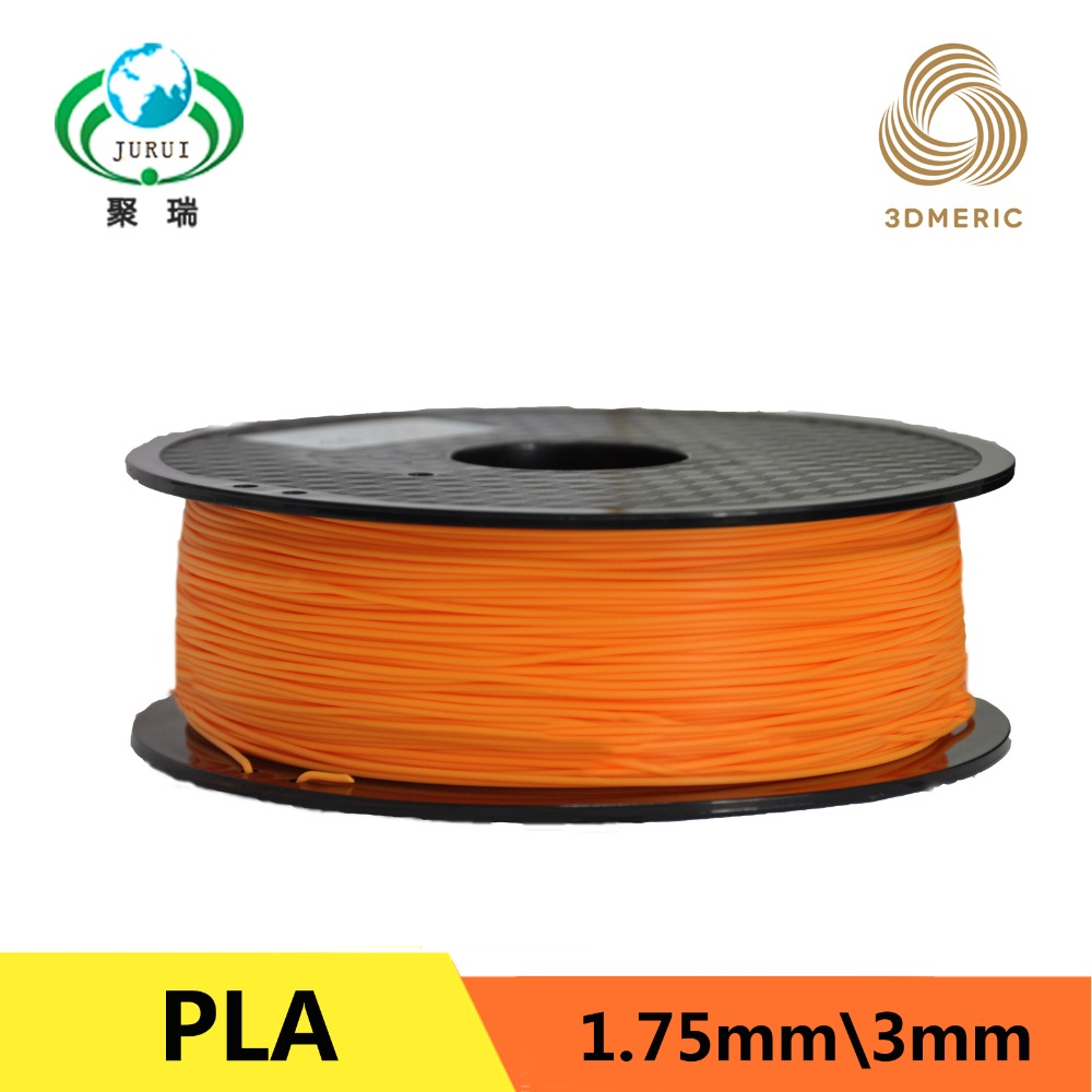PLA Filament 1.75mm 1kg / 2.2lbs for 1.75 3D Printer Plastic Reprap / Wanhao / Makerbot Free Shipping 1kg free shipping 100