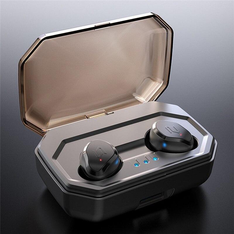 da86bf54c5f TWS-S8 PLUS Wireless Bluetooth Headset Touch Mini New 5.0 Sports Wireless  Binaural Waterproof 3000Mah Charging Box HIFI Sound