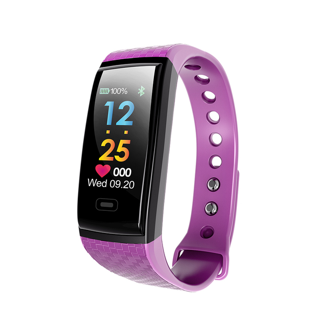 Stylish Multifunction Water-Resistant Silicone Smart Wristband