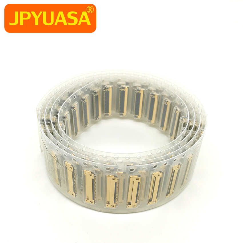 цена на 50 PCS New I-PEX LCD LED LVDS Cable Connector For Macbook Pro A1278 A1342 30 Pins 2008 2009 2010 2011 2012