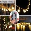 Globe 50 LED Ball String Lights Waterproof 8 Functions Battery Box Powered Christmas Light Home Garden