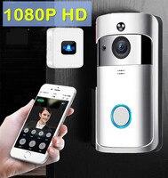 Video doorbell Intercom system wifi wireless ip camera 1080P HD security smart doorbell night vision home video door phone