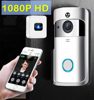 Video doorbell Intercom system wifi wireless ip camera 1080P HD security smart doorbell night vision home video door phone