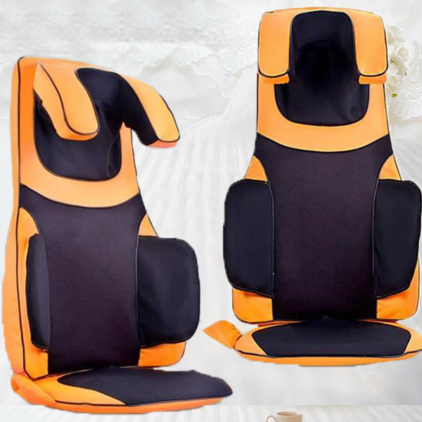 Electric Massage Chair Tapping Kneading Neck and Shoulder Massage Vibrating Back Massage Cushion For Sale tapping massage cushion 3d new massager whole body massage chair mat for sale