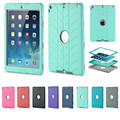 For iPad Air 1 Case Kids Safe Armor Shockproof Heavy Duty 3in1 Rugged Silicone Hard Cover For Apple iPad 5 Table Case
