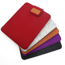 "Eagwell 10"" Universal High Quality Woolen Felt Sleeve Bag Pouch Case For 10"" Tablet PC Light Weight Bag Pouch For iPad Air/Air 2(China)"