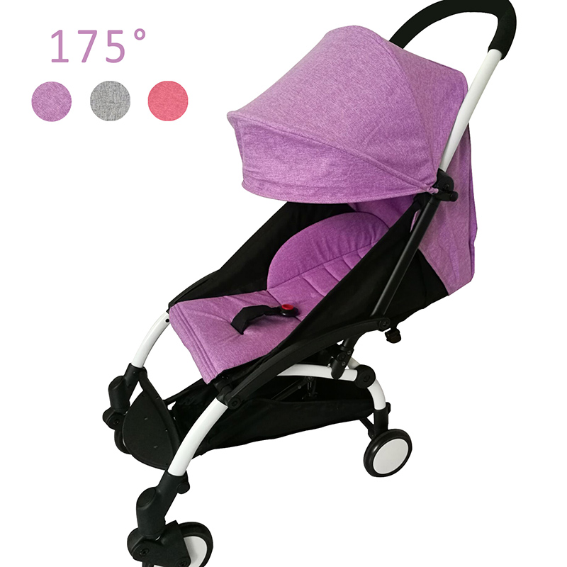 Stroller <font><b>Accessories</b></font> for Babyzen Yoyo Seat + Sunshade Cover Infant Baby Yoya Throne Time Cushion Pad Liners Canopy 175 Degrees
