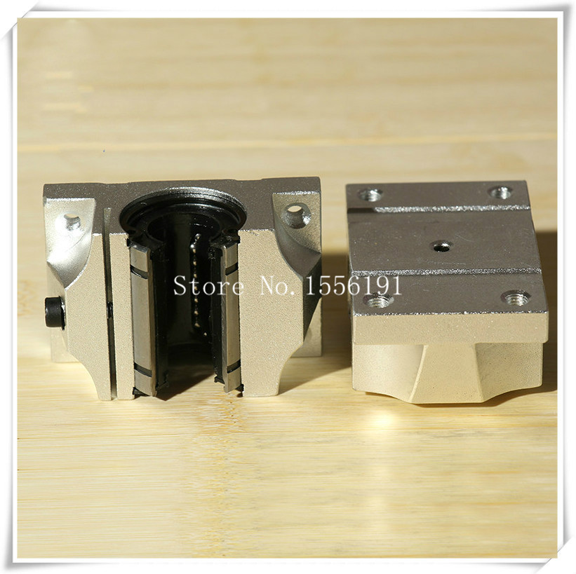 TBR30 UU Slide Linear Bearings Widen open box type Cylinder axis TBR30 Linear motion ball silide units CNC parts High quality in Slides from Home Improvement