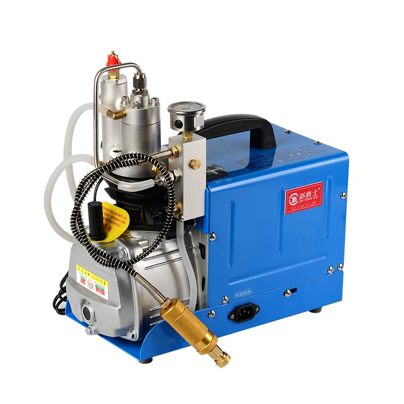 300BAR 4500 psi 30 mpa high pressure air cooling water pump electric pump miniature air compressor PCP 220 v