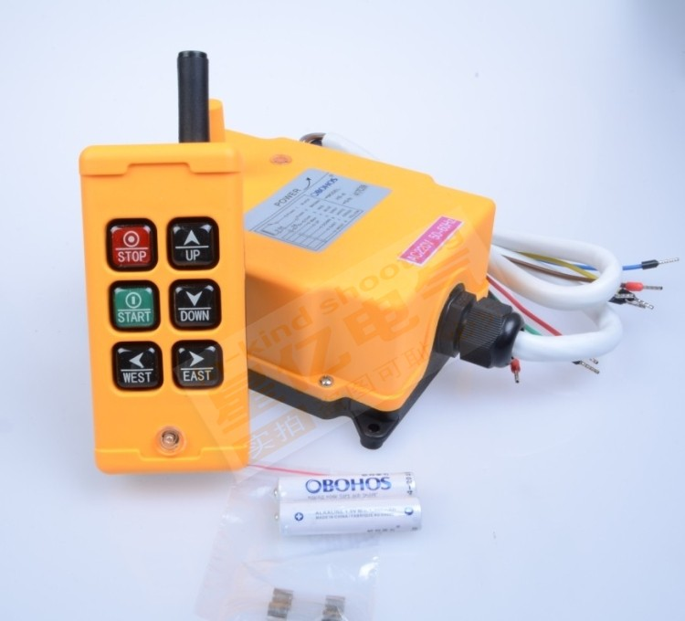 24VDC HS-6 6 Channels Control Hoist Crane Radio Remote Control Industrial Remote Control Hoist Crane switch switches цена