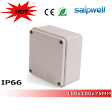 Saipwell Hot sale IP66 plastic waterproof electrical junction boxes DS-AG-1010 100*100*50mm