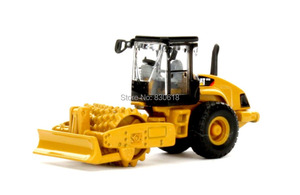 Norscot 55247 Cat Caterpillar HO Scale CP56 Padfoot Drum Compactor Diecast 1:87(China)