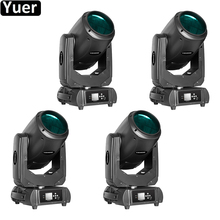 цена на 4Pcs/Lot Color Music Stage Moving Head Light 260W Beam Spot 2IN1 DMX512 DJ Disco Light Strobe Effect Wedding Moving Head Lights