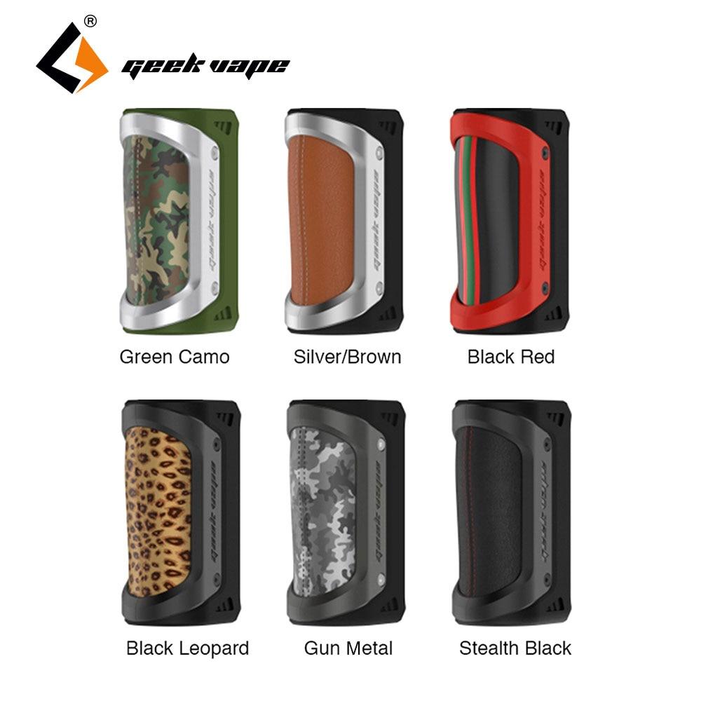 все цены на Original GeekVape AEGIS 100W TC Box Mod Waterproof Shockproof Dustproof fit 18650 26650 battery Vape Ecigarette Mod no battery