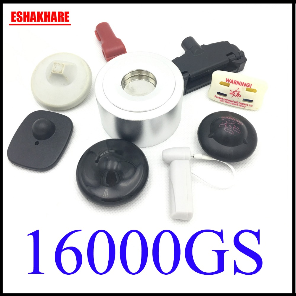 clothing security tag detacher 16000GS universal checkpoint detacher for eas system superlock eas magnet tag remover(China)