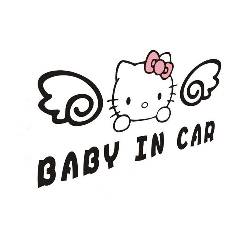 Popular Baby on Board Warning Graphics Decal Decor Auto Car Window Vinyl Sticker