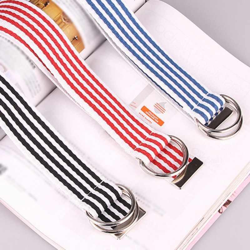 """Лучшая версия 1:1 цапля ремень из плотной ткани в стиле """"хип-хоп"""" уличная Для женщин Для мужчин ремень цапля Престон 120 см Черно-красные и синие огни для F3"""