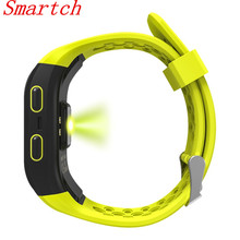 Smartch S908 Водонепроницаемый Спорт Фитнес Smart Band GPS Фитнес трекер браслет умный Браслет мониторинг сна здоровый трекер