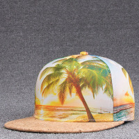 1Piece Print Summer Style Hats For Men Women Snapback Baseball Caps Hip Hop Caps Dad Hats
