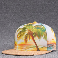 1Piece Print Summer Style Hats For Men Women Snapback Baseball Caps Hip Hop Caps Dad Hats