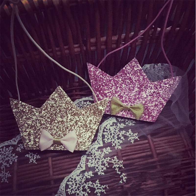 Girls Small Coin Purse Change Wallet Kids Crown Bag Coin Pouch Children's Wallet Money Holder Lovely Kids Bags