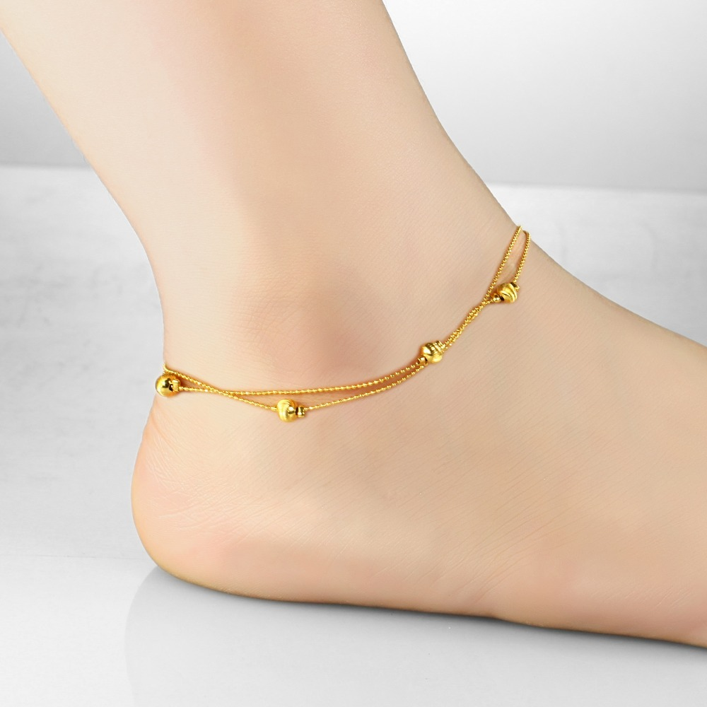 9d943b9db Wholesale Price New City Fashion Jewelry Cute Style Little Ball Anklets  Bracelet for Women / Lady / Girl KZ727-in Anklets from Jewelry &  Accessories on ...