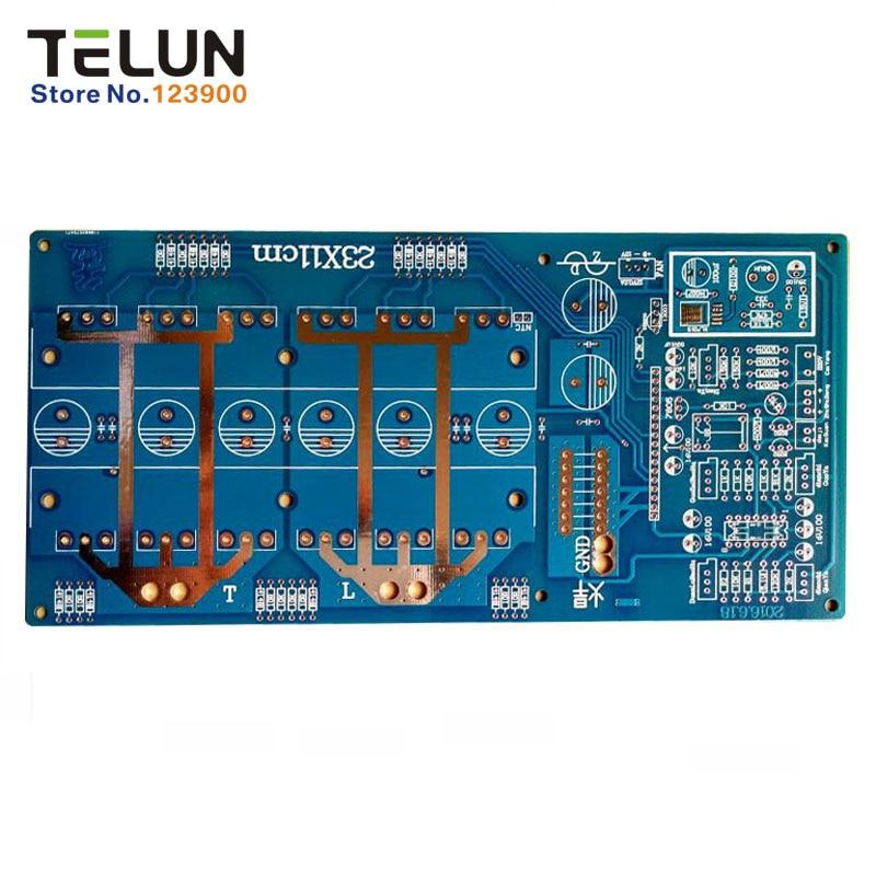 Free shipping 1pcs 3000-6000AV W DC 24V / 36V / 48V / 60V to AC220V / 110V pure sine inverter Empty plate PCB circuit board free shipping vi jt3 cx dc dc 110v 24v 75w
