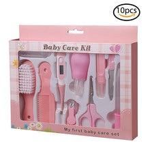 10 st Baby Gezondheidszorg Kits Baby Nail Clipper Nail Tool Set Baby Grooming Kit Shear Trimmer Baby Pasgeboren Baby Veilig Gezondheidszorg