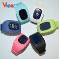 6 Цветов Vwar Оригинальный Смартфон Часы Дети Ребенок Наручные Часы G36 Q50 Q50 GSM GPRS GPS Локатор Трекер потерянный Smartwatch