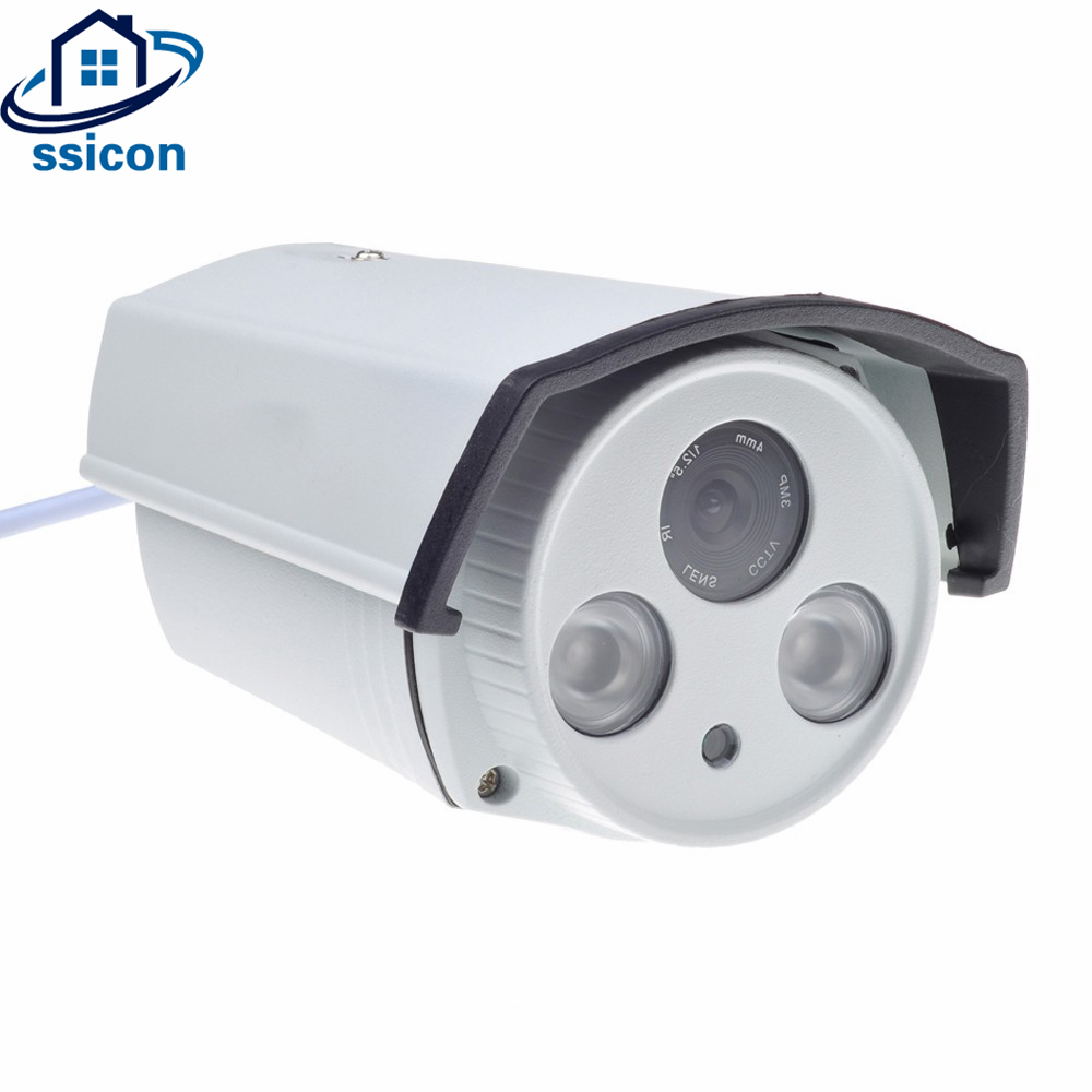SSICON 2Pcs Array Leds Night Vision 4MP CCTV Camera AHD 4mm Lens IR Distance 30M Waterproof Outdoor Security Camera 6mm to 4mm freeshipping cnc engraving machine conversion sleeve tungsten woodworking router bit carbide end milling cutter