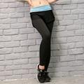 Sexy Spliced Skinny Leggings Women Sweatpants Fitness Capris Casual Pants Joggings Trousers Lady Hip Joggers Pencil Legging 138