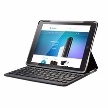 TECKNET For iPad Mini 1 2 3 Bluetooth 3.0 Wireless Keyboard Case Dustproof Foldable Stand Cover Case Holder with Auto Sleep/Wake