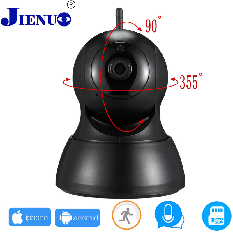 JIENU 720P IP Camera Wi-Fi Wireless Surveillance Night Vision wifi cam Home Security Cameras CCTV Baby Monitor P2P ONVIF asus p8h61 m lx plus desktop motherboard h61 socket lga 1155 i3 i5 i7 ddr3 16g sata2 usb2 0 vga com port