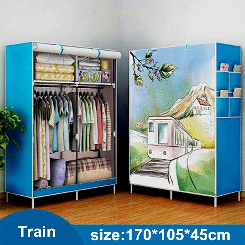 Einfache Kleiderschrank Montage Folding Kunststoff Kombination Harz Tuch Kleiderschrank Einfache Moderne Wirtschafts Schrank Raum Schränke