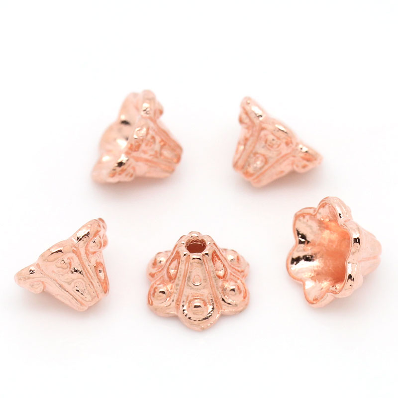 Exquisite Jewelry Accessories Flower Shape End Bead Caps For Fashion