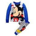 2016 Children's Pajamas Set Pyjamas Kids Cartoon Baby Boy Girl Clothing Set Cotton Boy's Girl Pajamas Kids Sleepwear pijama