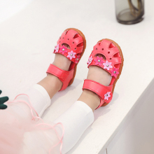 hot deal buy cozulma 2019 summer baby girls shoes baby sandals girls summer beach shoes kids sandals girls princess roman style flower shoes