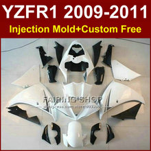 Classic white Motorcycle parts for YAMAHA R1 fairings 09 10 11 12 R1 bodyworks YZF1000 R1 YZF R1 2009 2010 2011